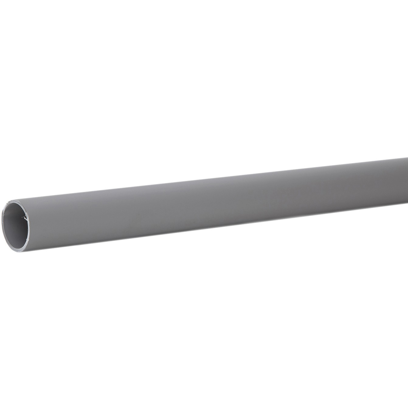Polypipe 32mm Push Fit Waste Pipe - Grey, 3 metre