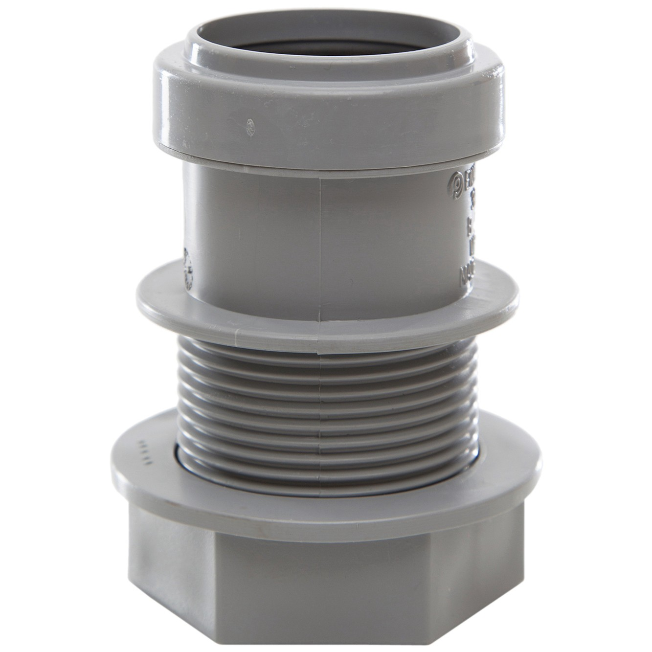 Polypipe 32mm Push Fit Waste Tank Connector - Grey