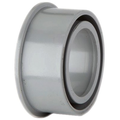 Polypipe 32mm Solvent Soil Boss Adaptor - Grey