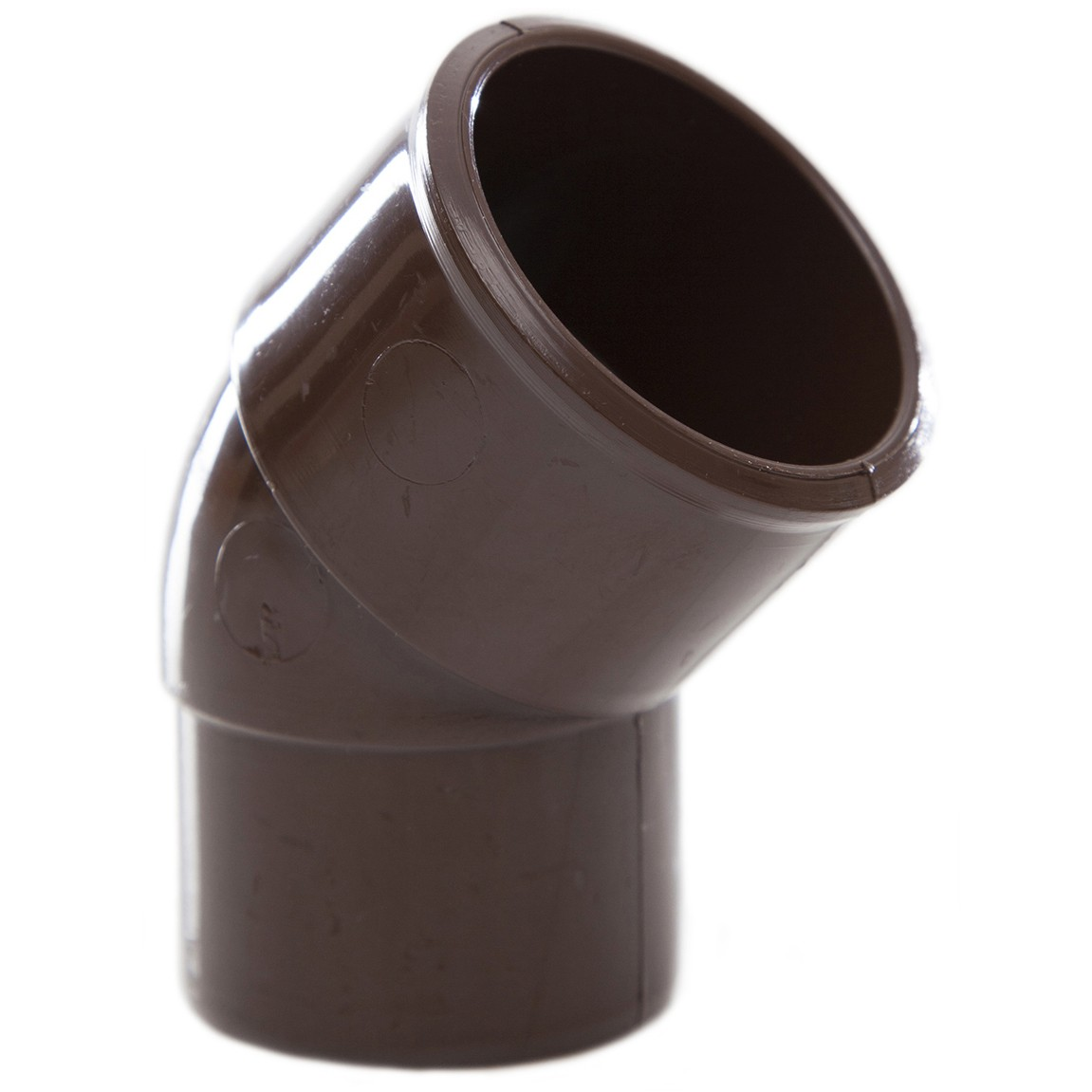 Polypipe 32mm Solvent Weld Waste 45 Degree Spigot Bend - Brown