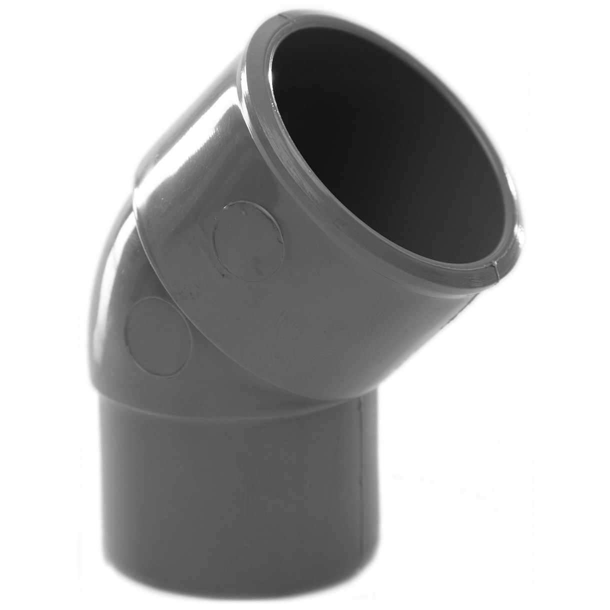 Polypipe 32mm Solvent Weld Waste 45 Degree Spigot Bend - Grey
