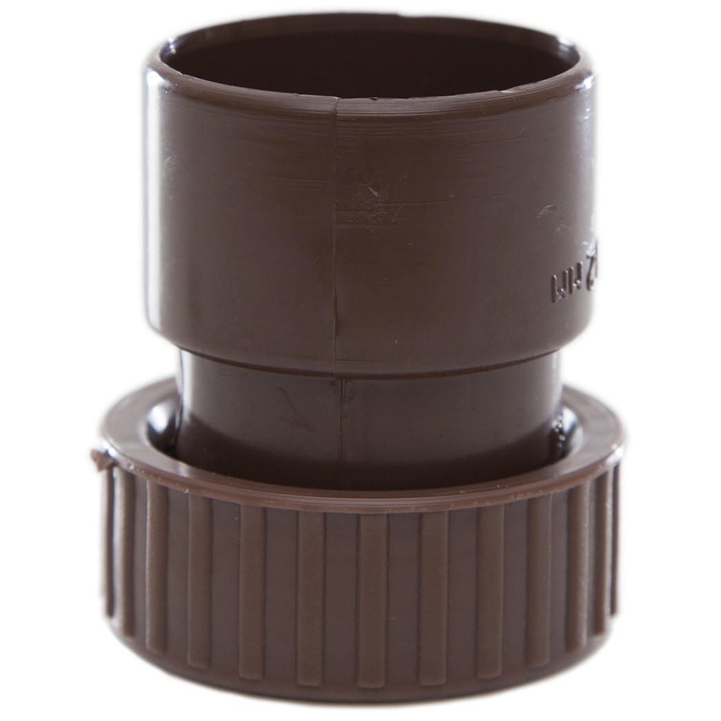 Polypipe 32mm Solvent Weld Waste Female Threaded Coupler - Brown