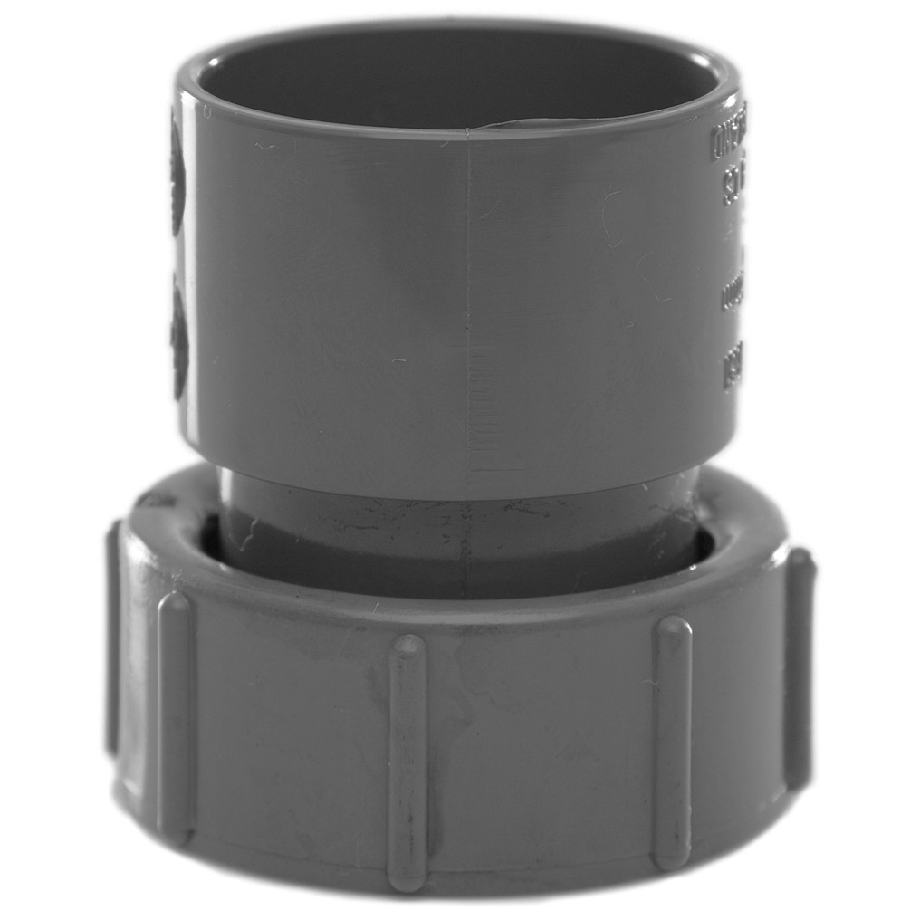 Polypipe 32mm Solvent Weld Waste Female Threaded Coupler - Grey