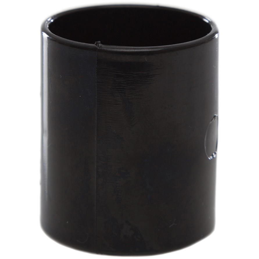 Polypipe 32mm Solvent Weld Waste Straight Coupler - Black