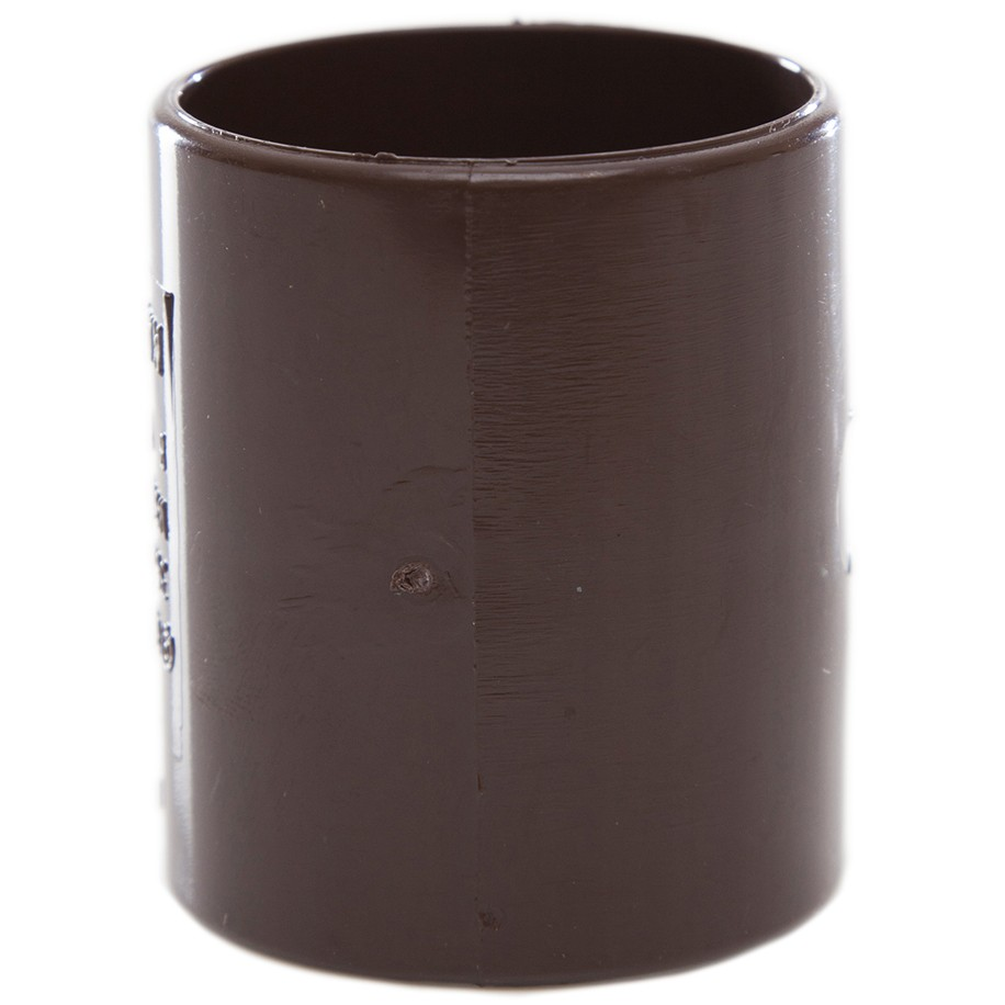 Polypipe 32mm Solvent Weld Waste Straight Coupler - Brown
