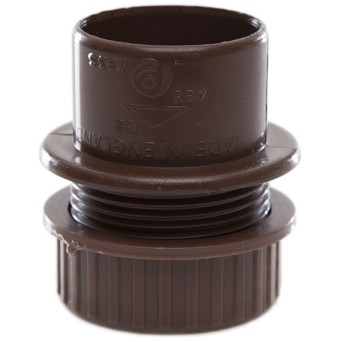 Polypipe 32mm Solvent Weld Waste Tank Connector - Brown