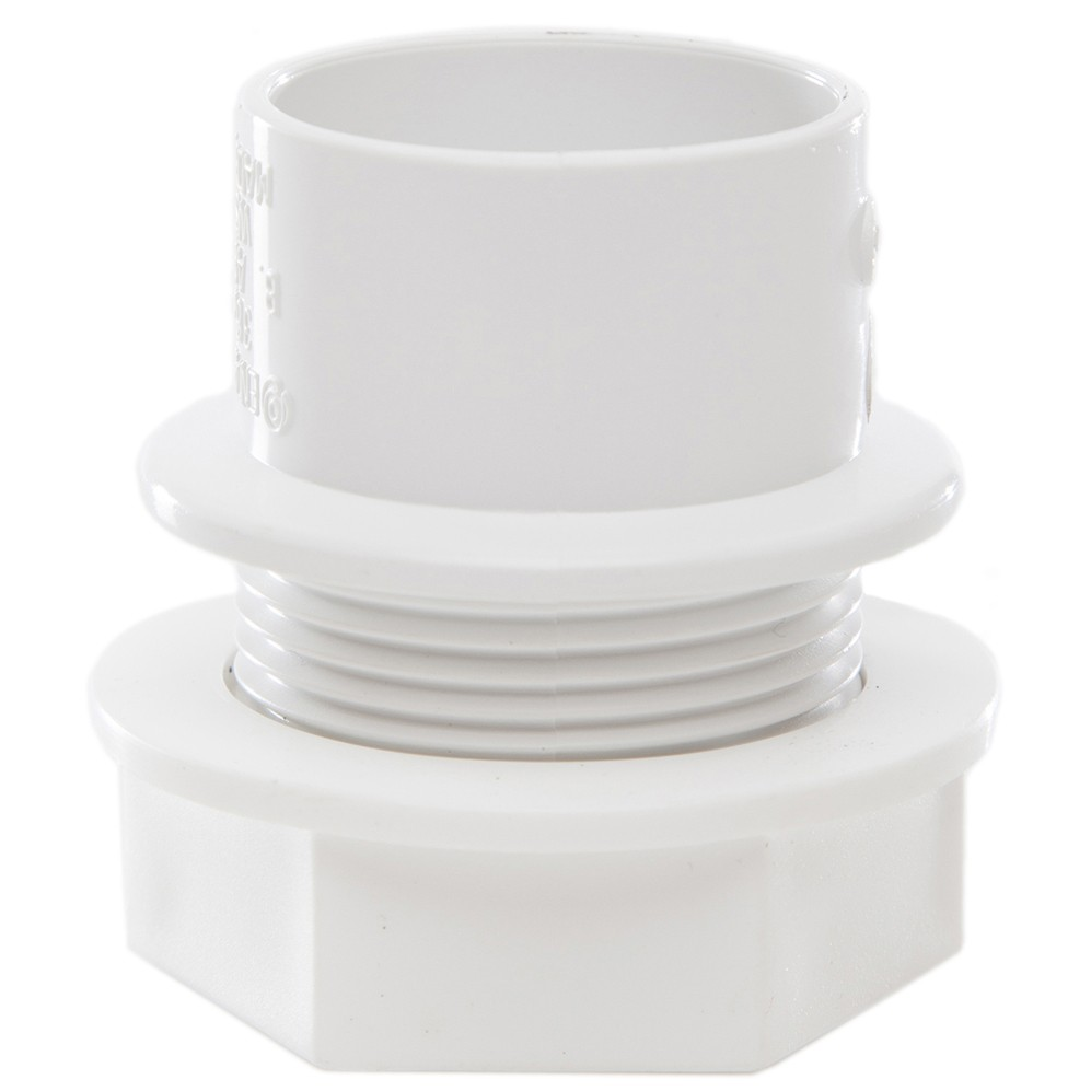 Polypipe 32mm Solvent Weld Waste Tank Connector - White