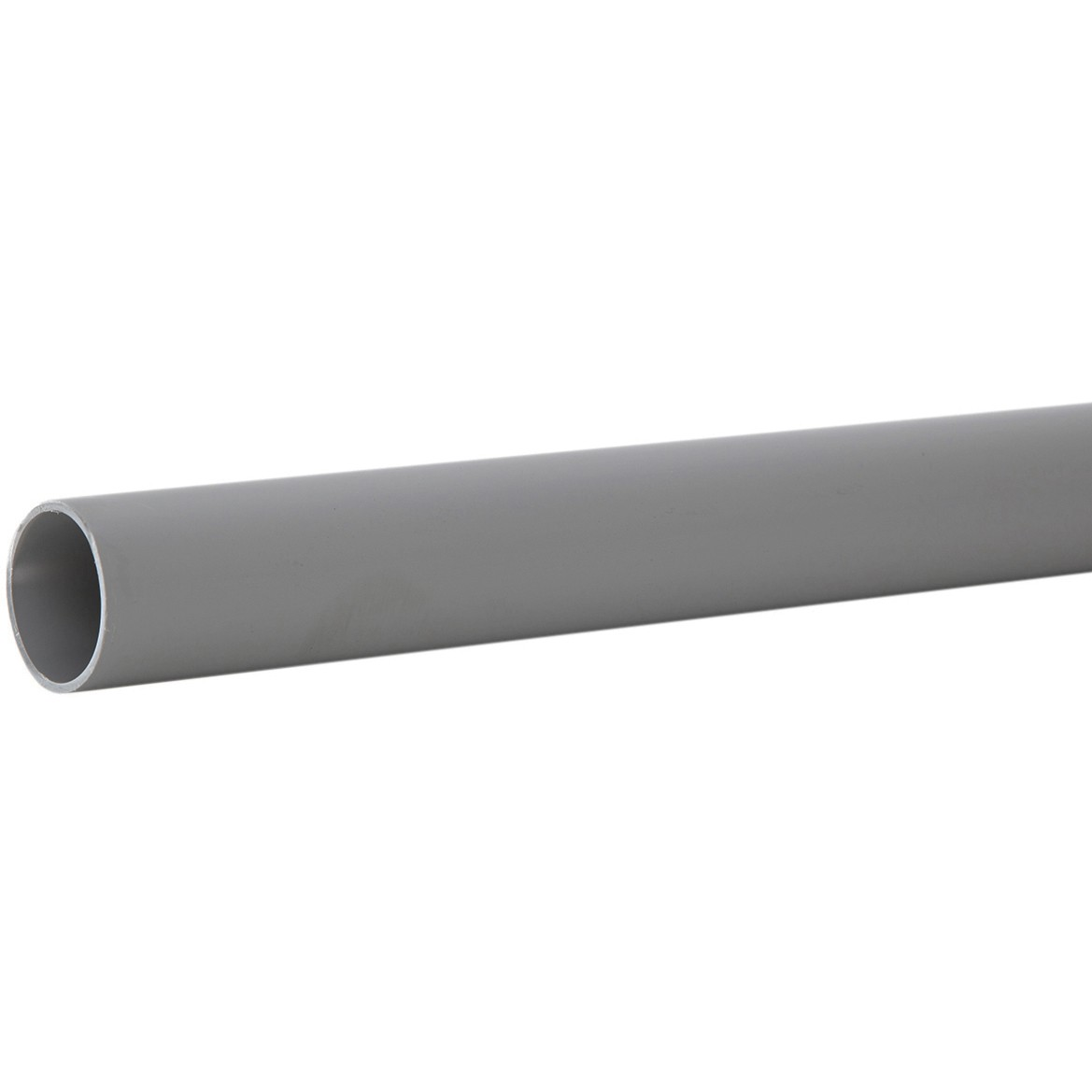 Polypipe 40mm Push Fit Waste Pipe - Grey, 3 metre