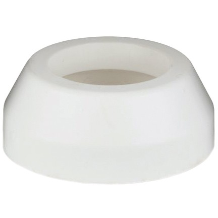 Polypipe 40mm Push Fit Waste Pipe Shroud - White