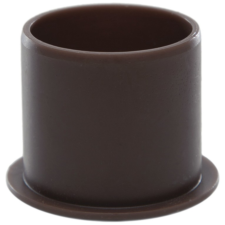 Polypipe 40mm Push Fit Waste Socket Plug - Brown