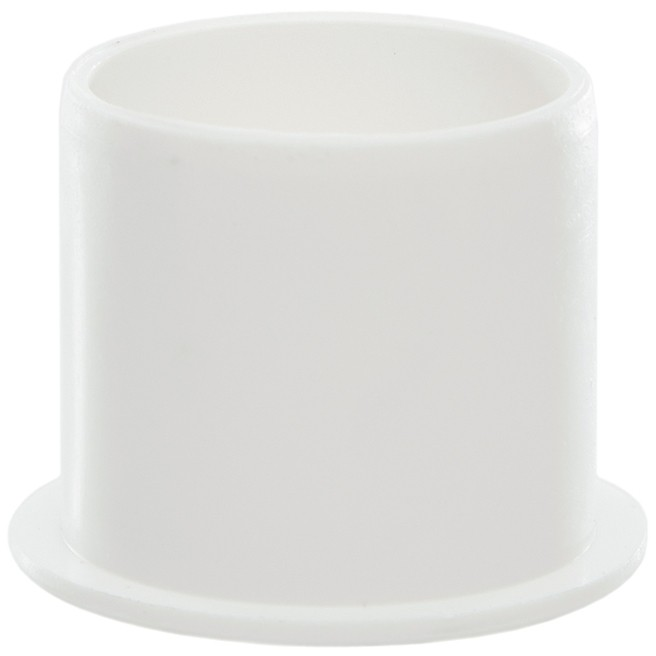 Polypipe 40mm Push Fit Waste Socket Plug - White