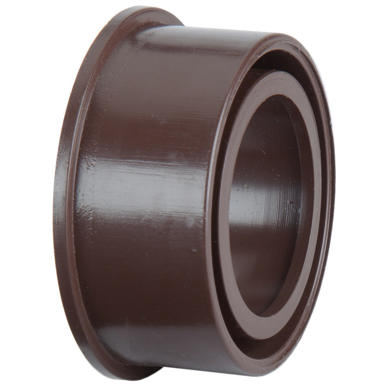 Polypipe 40mm Solvent Soil Boss Adaptor - Brown