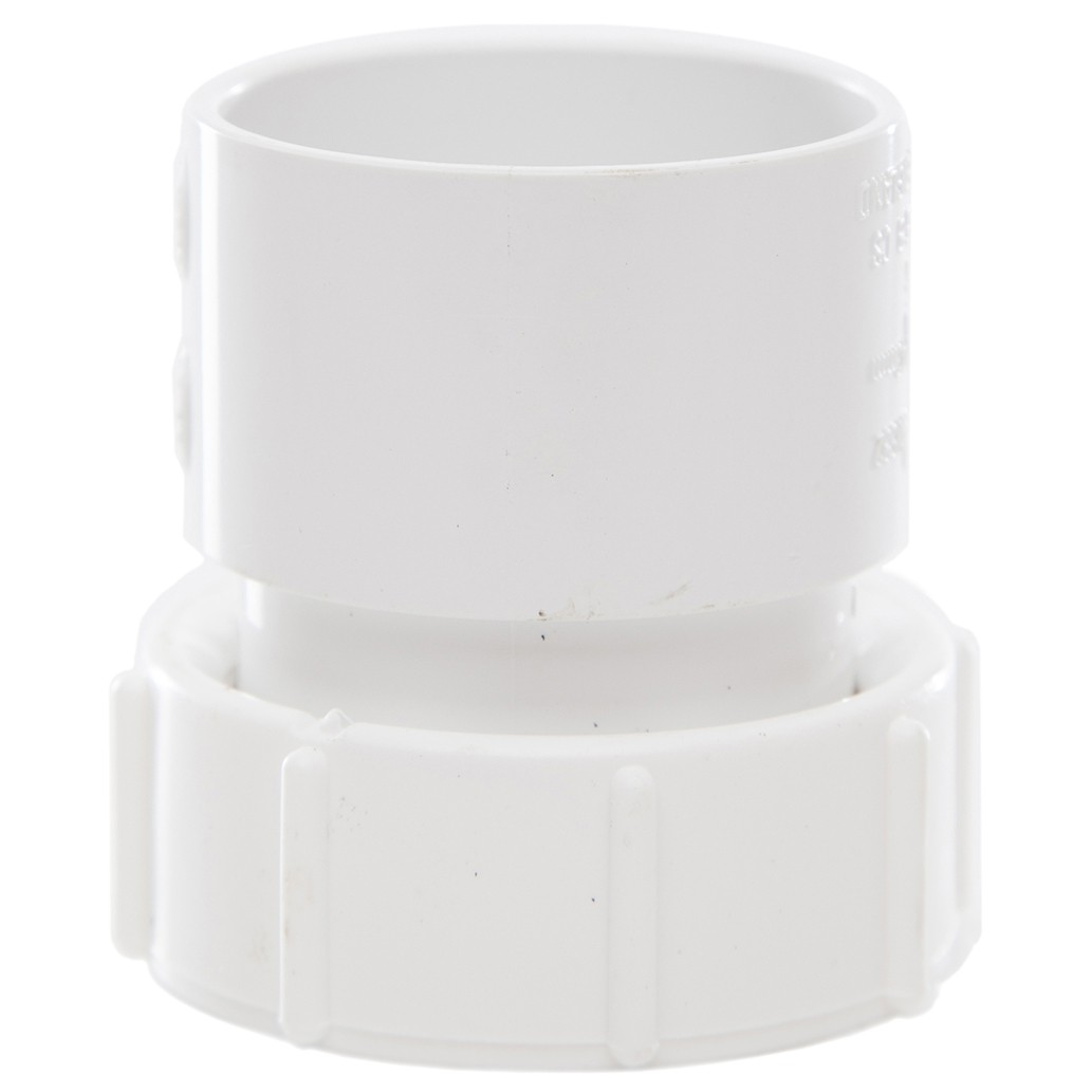 Polypipe 40mm Solvent Weld Waste Female Threaded Coupler - White