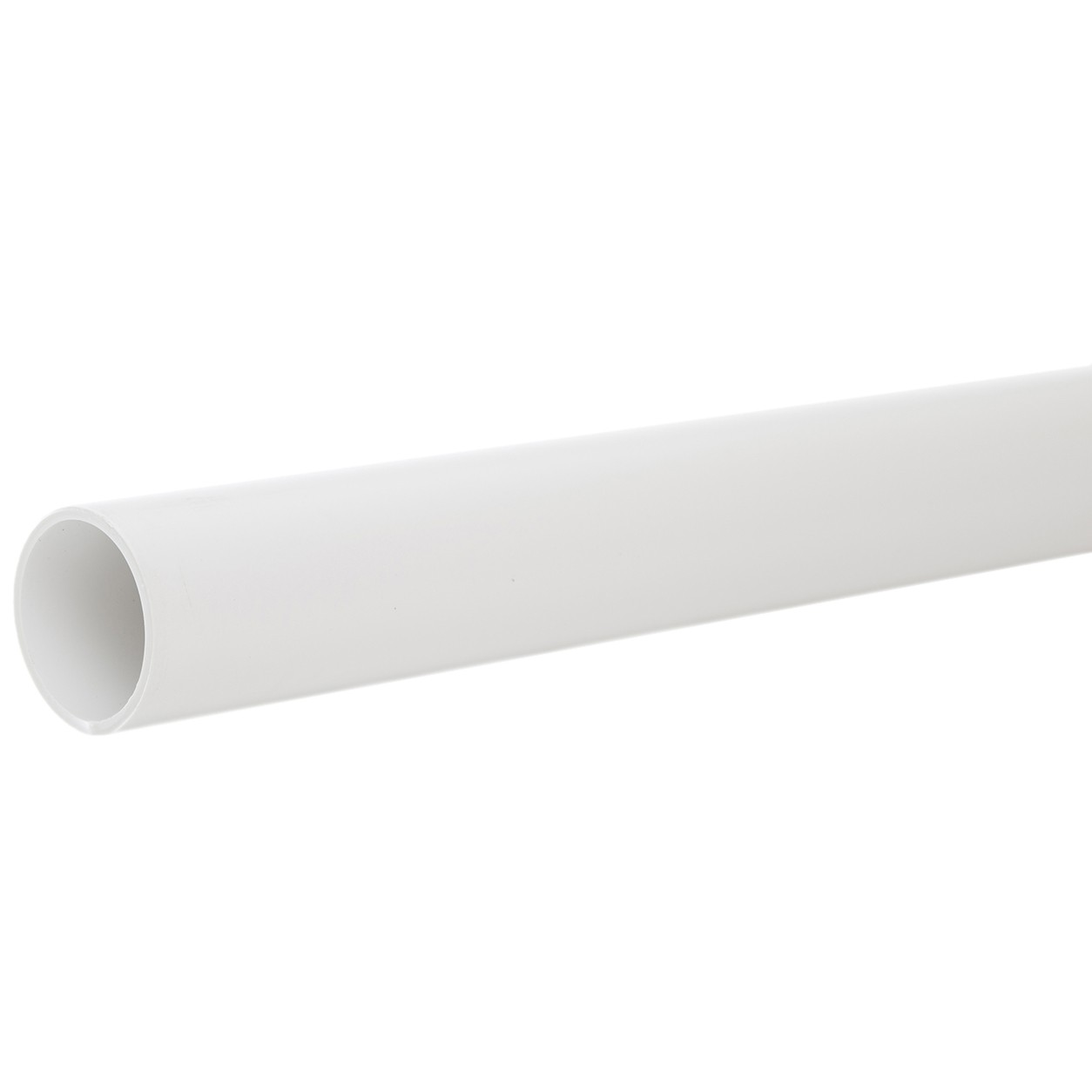 Polypipe 40mm Solvent Weld Waste Pipe - White, 1.5 metre