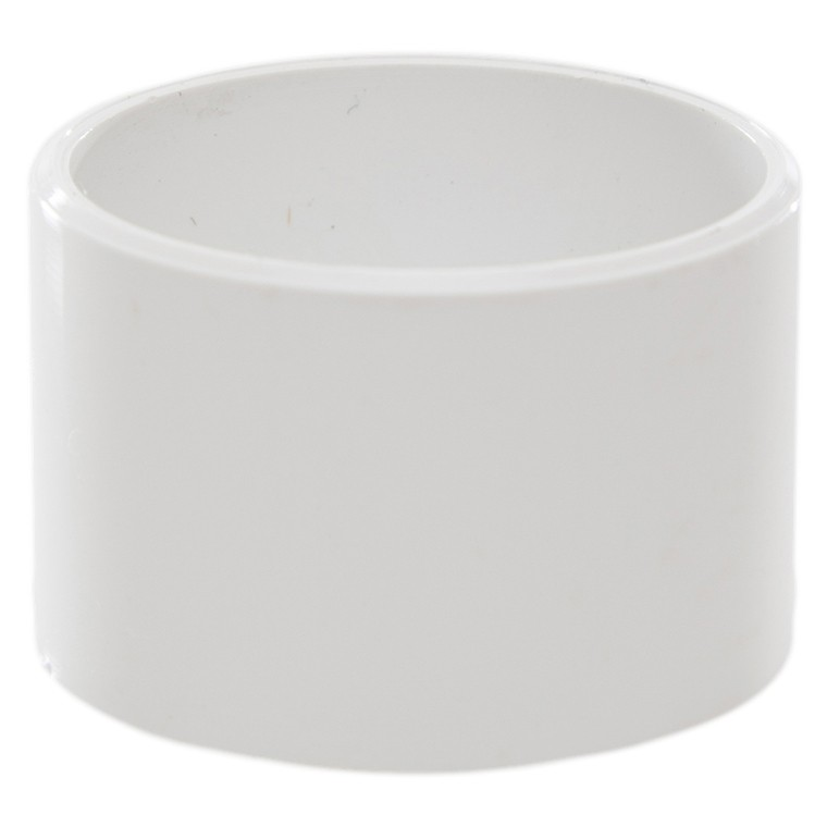 Polypipe 40mm Solvent Weld Waste Socket Plug - White