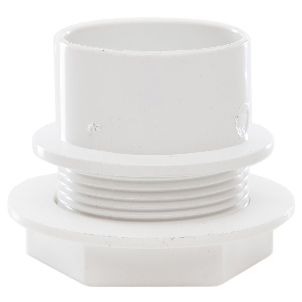 Polypipe 40mm Solvent Weld Waste Tank Connector - White