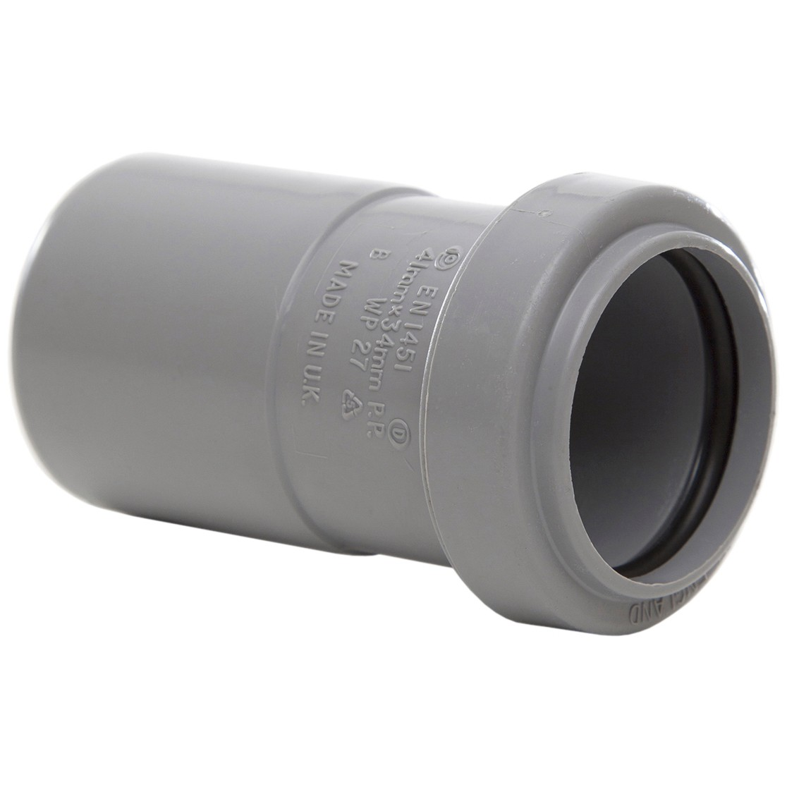 Polypipe 40mm to 32mm Push Fit Waste Reducer - Grey