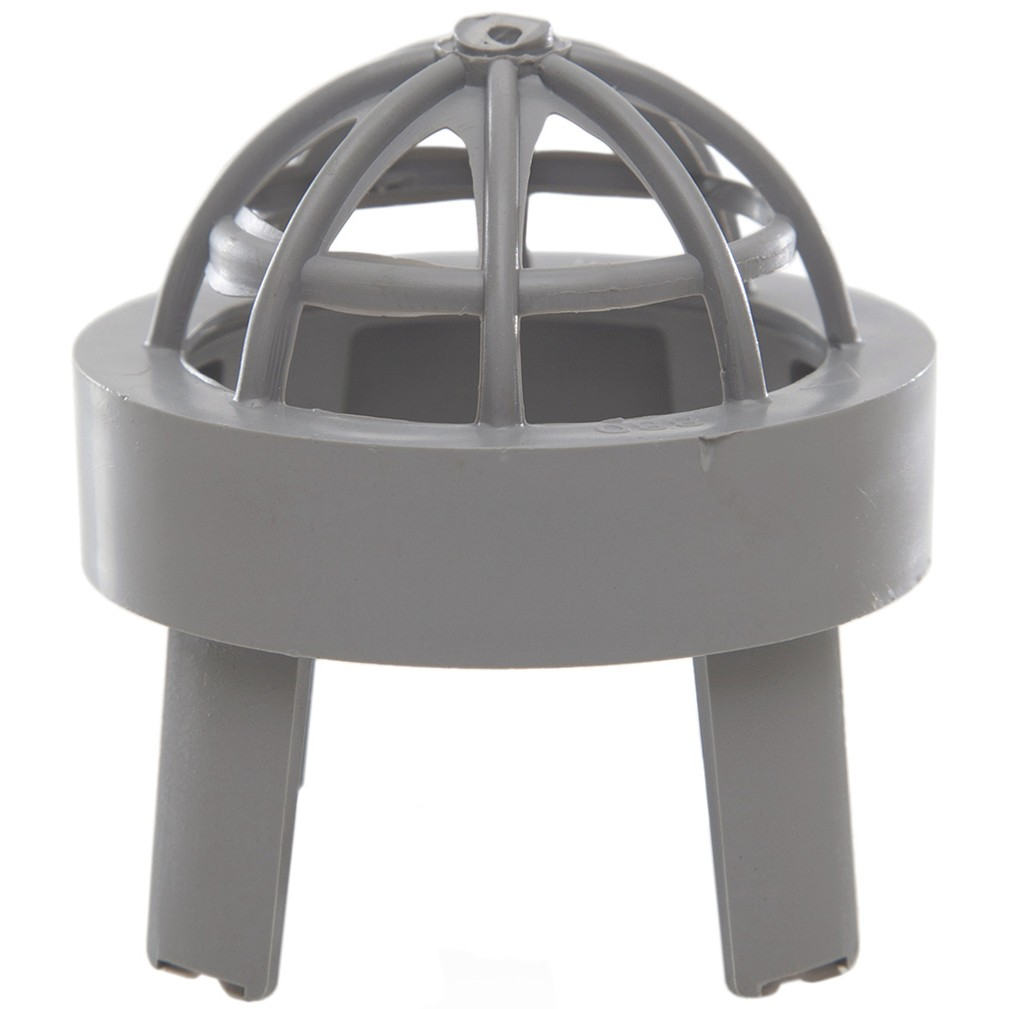 Polypipe 50mm Push Fit Waste Vent Terminal - Grey