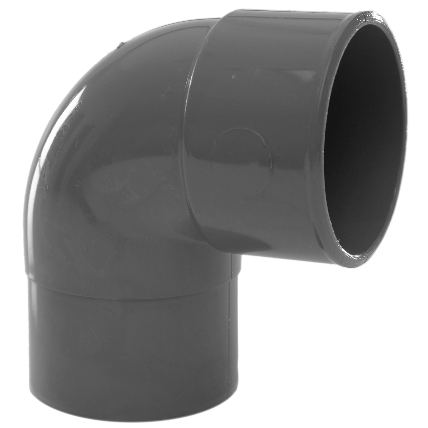 Polypipe 50mm Solvent Weld Waste 92.5 Degree Swivel Bend - Grey