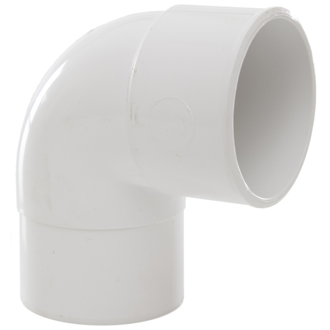Polypipe 50mm Solvent Weld Waste 92.5 Degree Swivel Bend - White