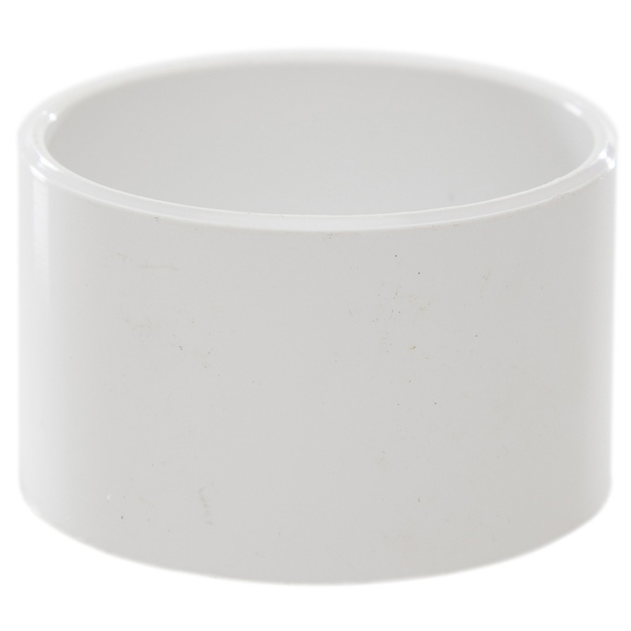 Polypipe 50mm Solvent Weld Waste Socket Plug - White
