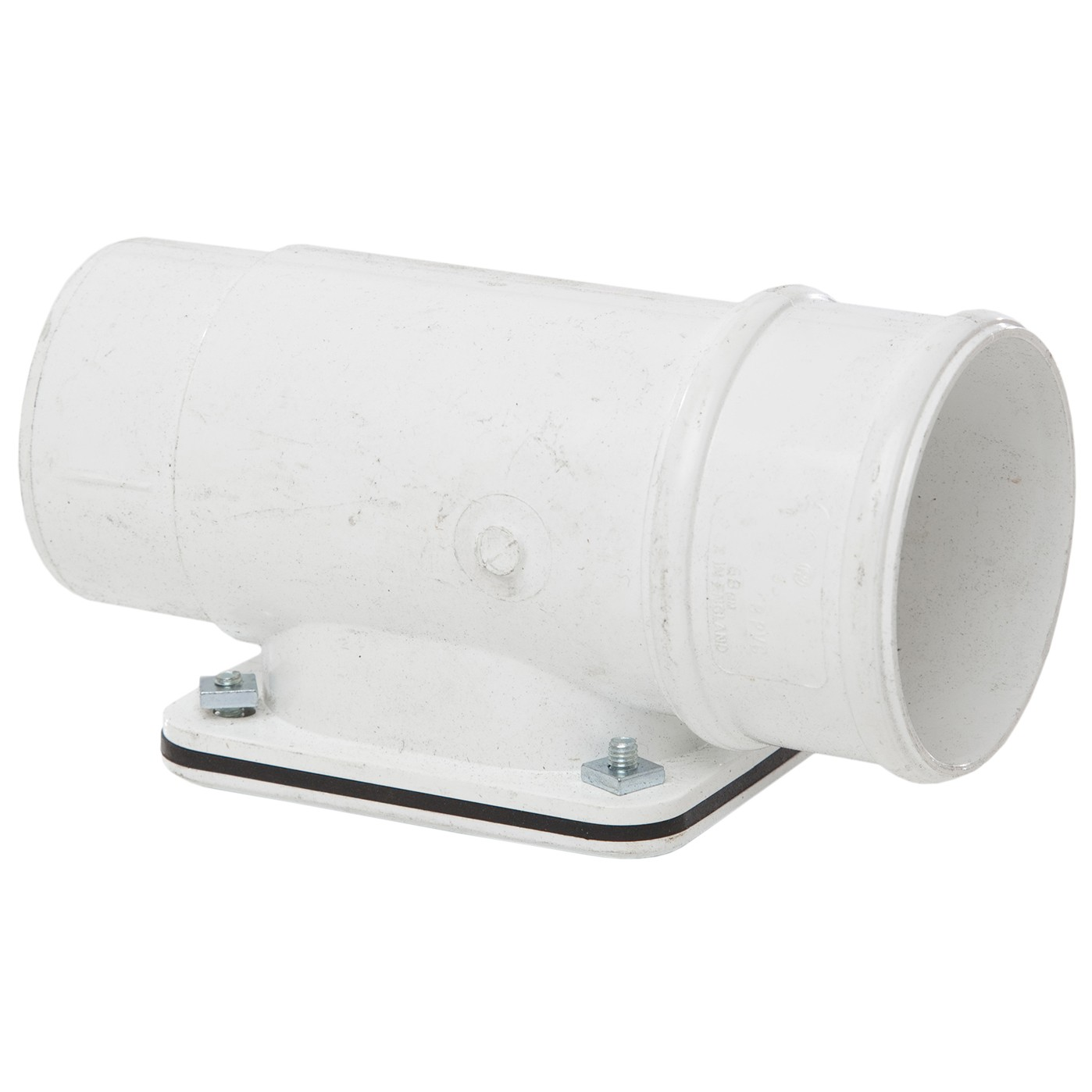 Polypipe 68mm Round Down Pipe Access Pipe - White