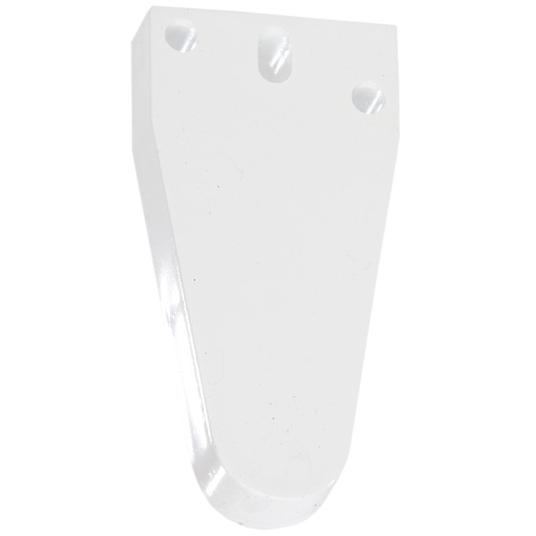 Polypipe Gutter Spacer Plate - White