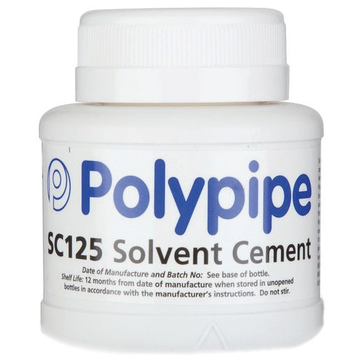 Polypipe Solvent Cement - 125ml