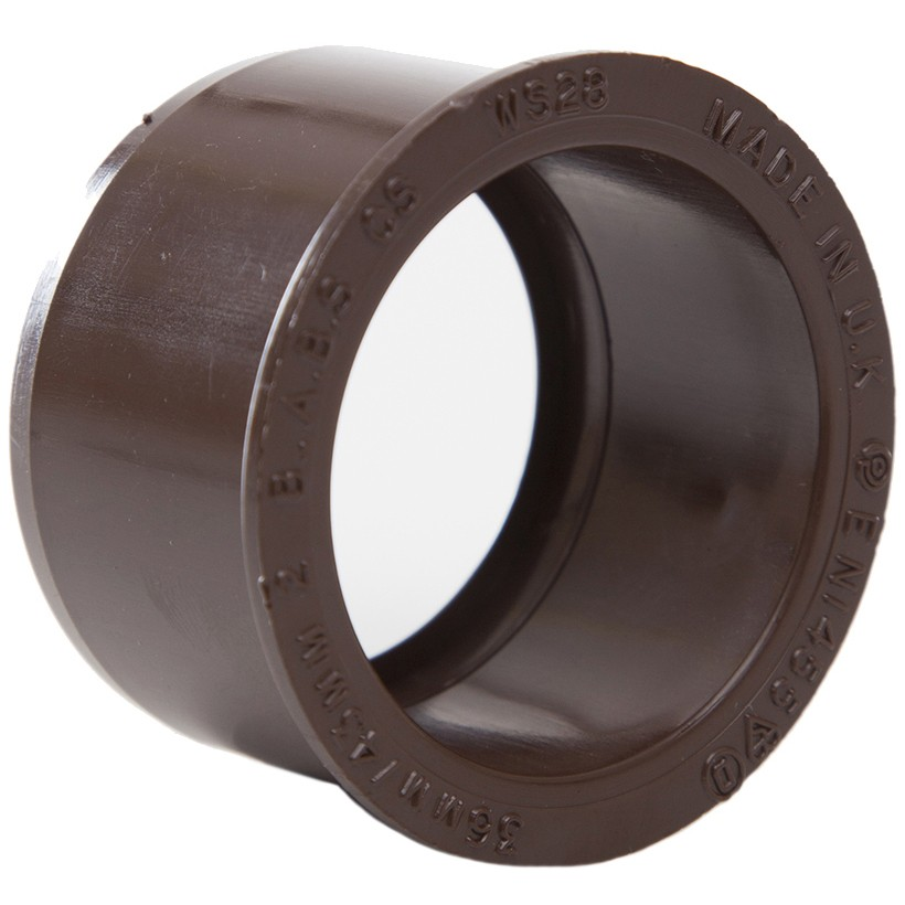 Polypipe Solvent Weld Waste Reducer (40mm to 32mm) - Brown