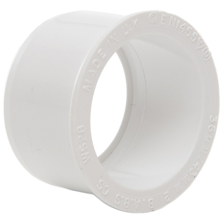Polypipe Solvent Weld Waste Reducer (40mm to 32mm) - White