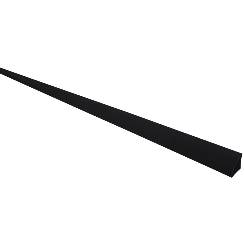 Specialist Black 9mm Quadrant Window Trim - Black, 9mm, 2.4 metre