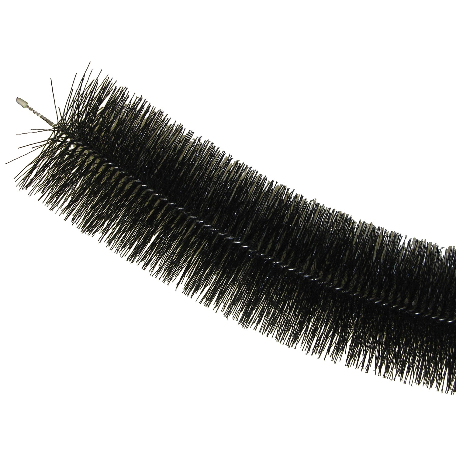 The Gutter Brush Bristle Gutter Protector Brush - Black, 4 Metre
