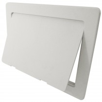 Arctic Plastic Access Panel - White, 150mm x 100mm