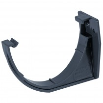 Brett Martin 115mm Deep Flow Anthracite Gutter Fascia Bracket - Anthracite Grey