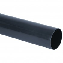 Brett Martin 68mm Round Anthracite Down Pipe - Anthracite Grey, 4 metre