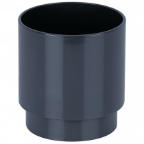 Brett Martin 68mm Round Anthracite Down Pipe Connector - Anthracite Grey