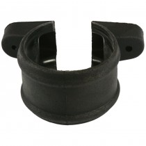 Cascade 110mm Cast Iron Style Soil Shroud And Lugs - Black