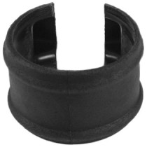 Cascade 110mm Cast Iron Style Soil Shroud - Black