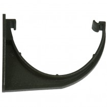 Cascade 115mm Deep Flow Cast Iron Style Gutter Fascia Bracket - Black