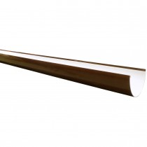 Freeflow 116mm Deep Gutter - Brown, 4 metre