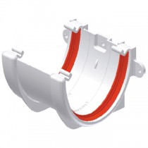 Freeflow 116mm Deep Gutter Union Bracket - White