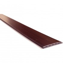 Freefoam 10mm Hollow Soffit Board - Woodgrain Rosewood, 100mm, 5 metre
