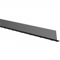 Freefoam Bird Comb - Black, 1 metre