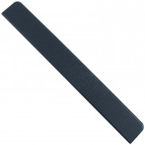 Freefoam Plain Fascia Board End Cap - Woodgrain Anthracite Grey