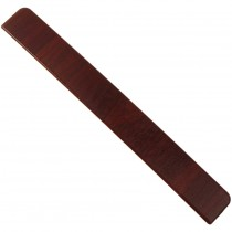 Freefoam Plain Fascia Board End Cap - Woodgrain Rosewood