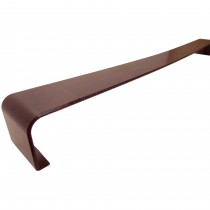 Freefoam Plain Fascia Board Joiner (Double) - Woodgrain Rosewood