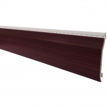 Freefoam Shiplap Cladding - Woodgrain Mahogany, 151mm, 5 metre
