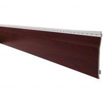 Freefoam Shiplap Cladding - Woodgrain Rosewood, 151mm, 5 metre