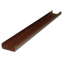 Liniar Plastic 7ft Fence Post Utilty Strip - Brown