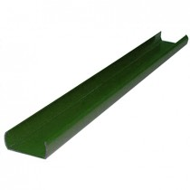 Liniar Plastic 7ft Fence Post Utilty Strip - Green